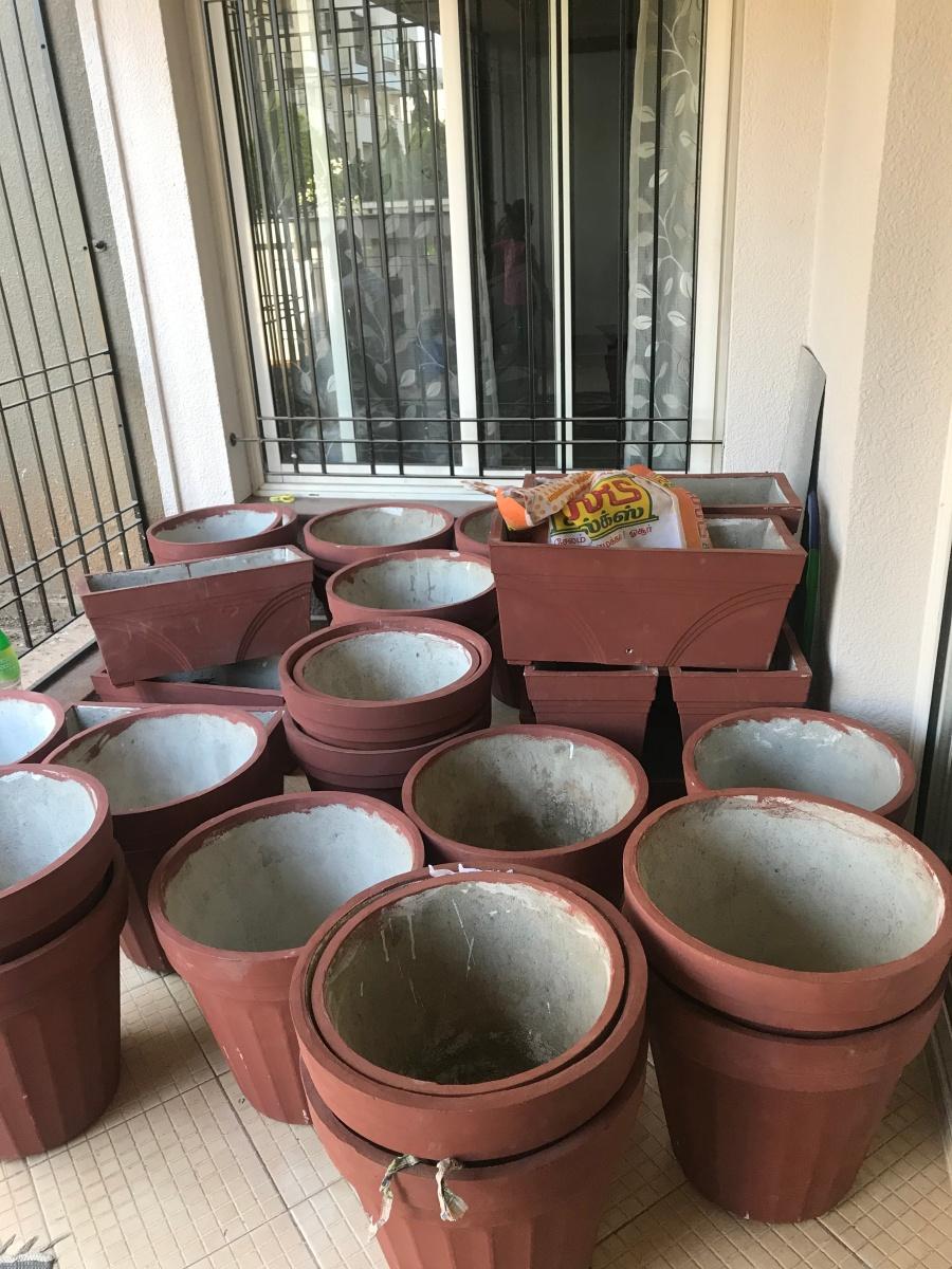 Pots for the garden